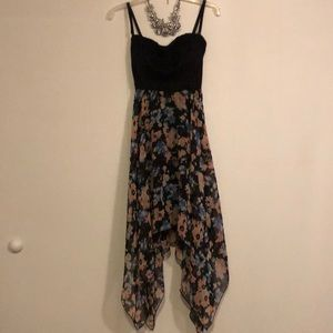 Almost Famous Floral Bow knot Dress